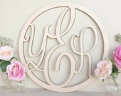 Personalized Rustic Wood Monogrammed Sign by Morgann Hill Designs #MorgannHillDesigns #BraggingBags