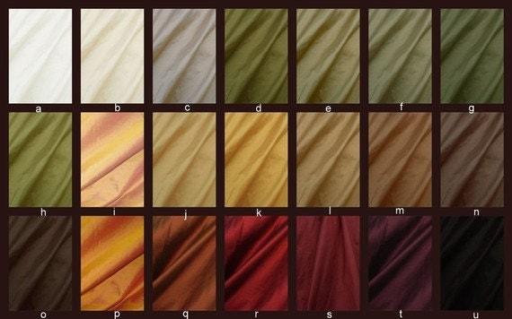 Beautiful Custom Dupioni Silk Drapes Curtains By
