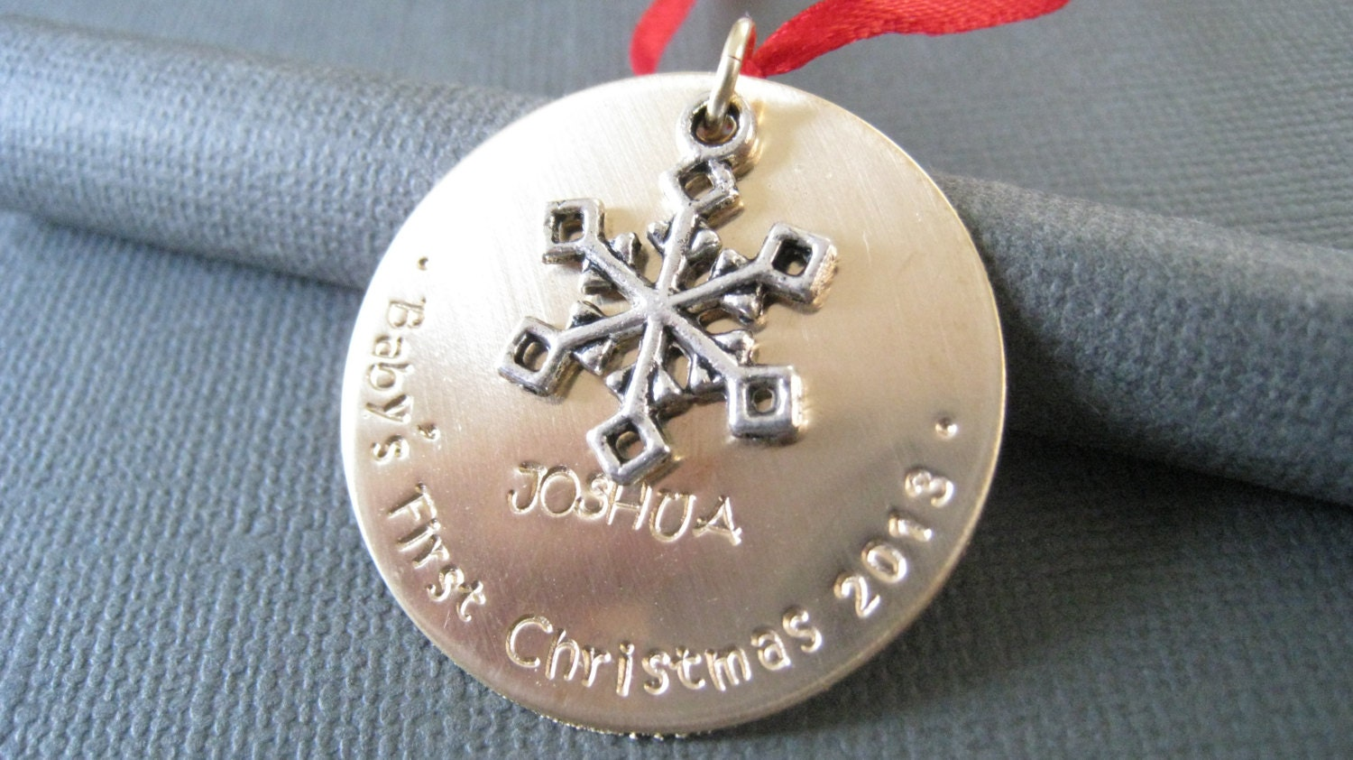 Baby's First Christmas Ornament Custom Christmas by ...