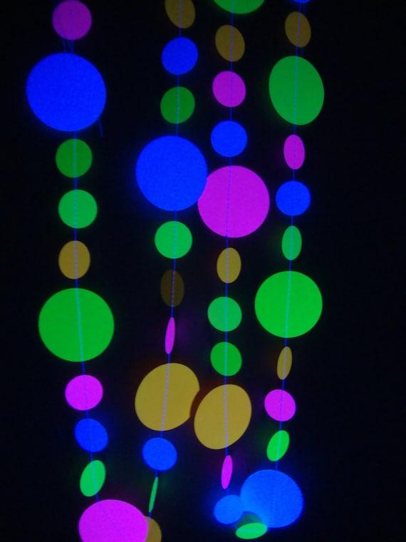 Black Light Party Decoration Ideas