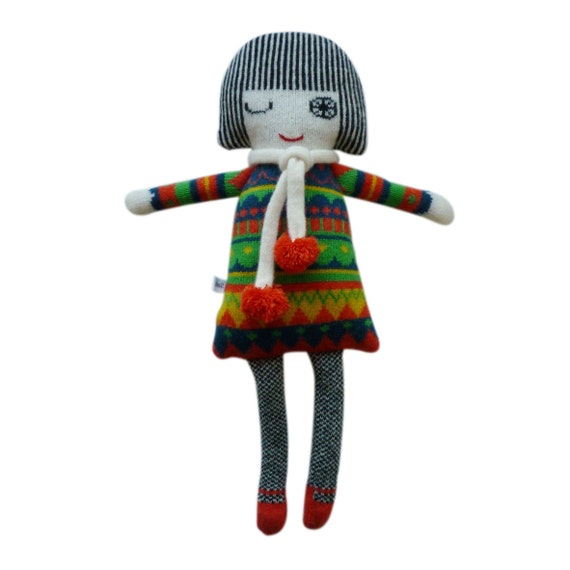 Lambswool Knitted Fairisle Dolly