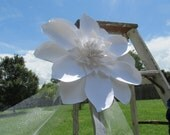 Weddings Large Paper Magnolia 18 Inches Great for wall of flowers Made to Order
