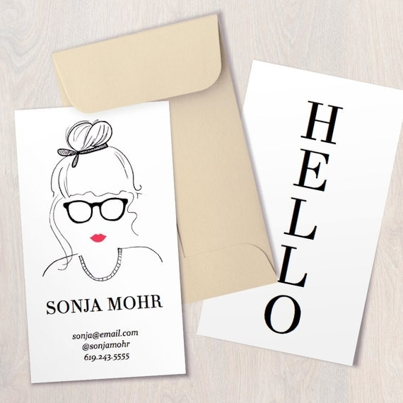 INSTANT DOWNLOAD Maven Printable Business Card