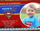 Awesome Superman Invitation!