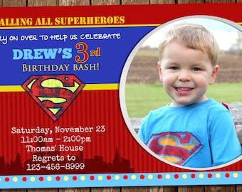 Awesome Superman Invitation!