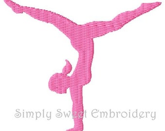Gymnast Mini Machine Embroidery Design