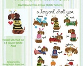 Dachshund Year Round Collection Cross Stitch PDF Chart