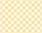 Pam Kitty Picnic  LH13008YEL Lakehouse Dry Goods Cherry Yellow Plaid
