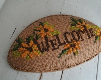 Vintage Welcome Basket
