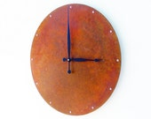Circle Wall Clock (Extra Large Rusted)