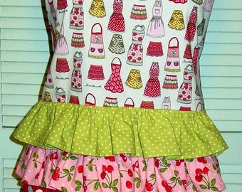 Adorable Apron made from Apron fabric!