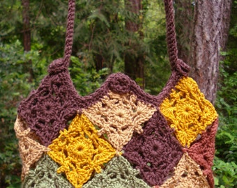 Patchwork Bag – PA-214 - Crochet Pattern PDF