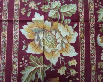 Divine Morceau of Antique French Fabric / Satin / 1800s / Sample / Patchwork / Document / Archive