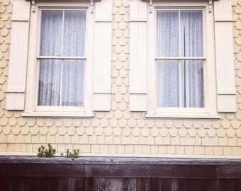windows...mendocino, ca. - digital print