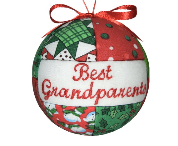 Christmas ornament best grandparents handmade christmas for Best handmade christmas ornaments