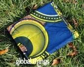 West African Wax Cotton Print Fabric - African Ankara Fabric - Eclipse