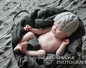 KNITTING PATTERNS - baby boy hat - Little Lamb