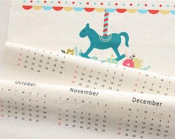 2014 Calendar on Linen Blended, U1922