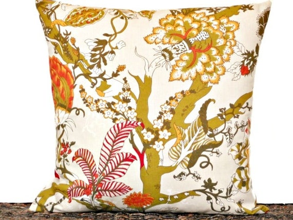 Floral Pillow Cover from Pookie and Jack