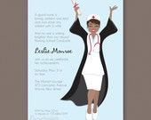 Newest Nurse - Graduation Party Invitation