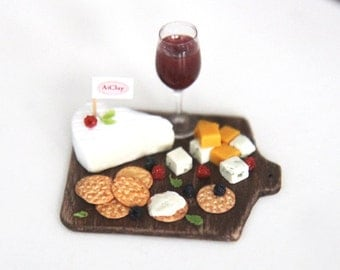 Perfect Partners in Crime - Miniature Cheese & Wine
