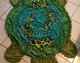 Turtle Tie Blanket