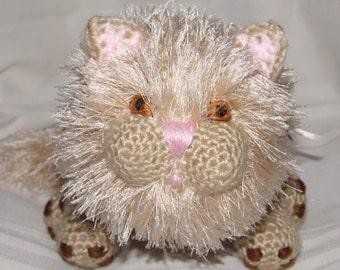 Crocheted Lion