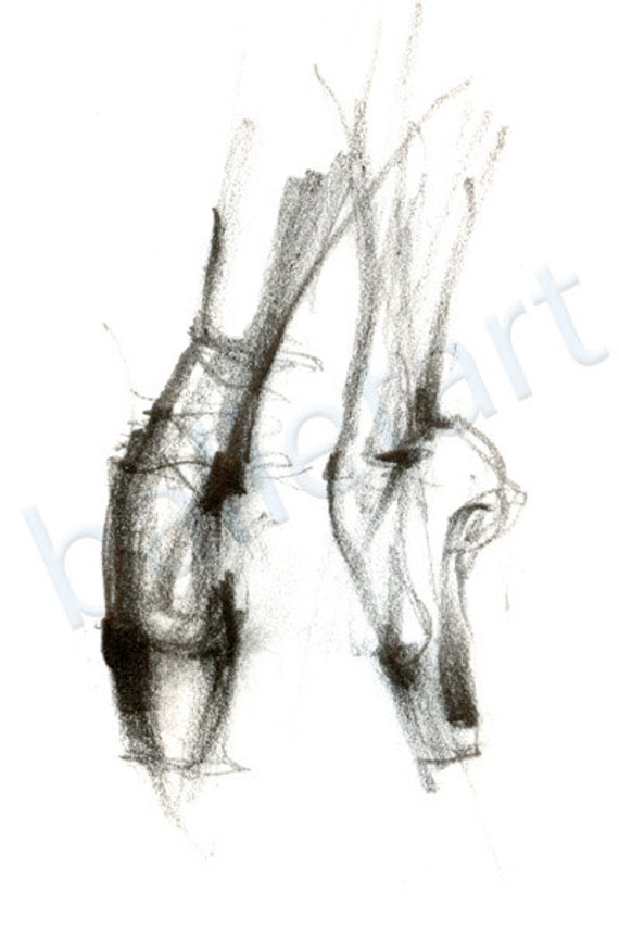 Pointed Feet Drawing Dancer Feet Drawing