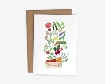 Endless harvest A6 Card with Kraft Envelope