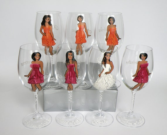 african american bride wine glass bbiy
