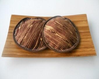 Faux Bois Lavender Eye Pillows/Wood Grain Lavender Eye Pillows/