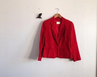 Pendleton Blazer-  Red size medium