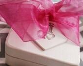 Ring Bearer Pillow Keepsake Box Woodland WEDDING Shabby Chic