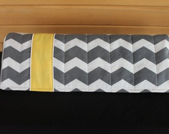 Dust Cover / Cozy in Gray,Pink,Teal chevron (SilhouetteCameo,CricutExpression,Personal Cricut,,Cricut Explore,BigShot,CutnBoss)available