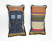 One Colorful Police Box Catnip Toys Two Sided
