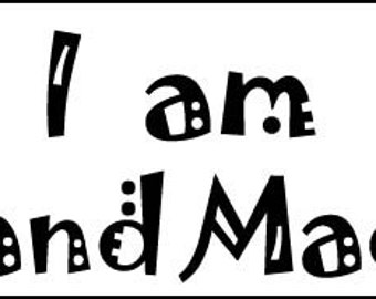 I am handmade -- free delivery