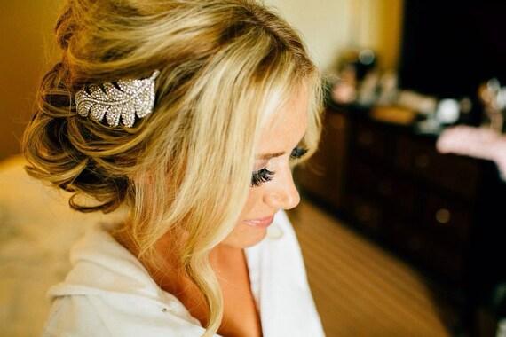 Wedding hair comb Rhinestone Bridal hair accessory Wedding headpiece Rhinestone Bridal hair comb Wedding hair jewelry Bridal hair piece COMB