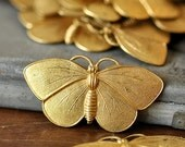 Brass Butterfly, Perfect for Enameling (BR040)