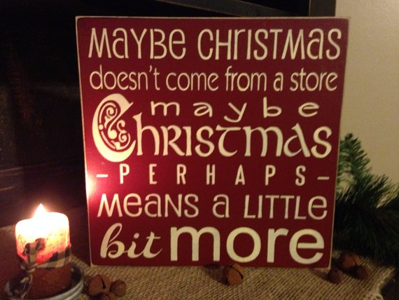 Grinch Quote Christmas Decoration