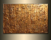 Abstract Painting ,Original Modern Textured Metallic Contemporary Abstract Painting By Henry Parsinia Ready To Hang 36x24