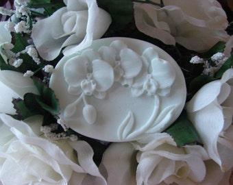 Calming Water Scented Orchid Cocoa Butter Soap