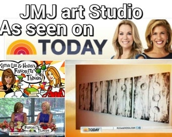 Art painting Jmjartstudio Original Painting 20 X 64 Inches -------Today Show--- custom