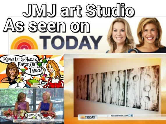 Art painting Jmjartstudio Original Painting 20 X 64 Inches -------Today Show--- custom