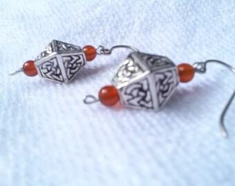 Celtic Diamond Earrings
