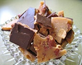 Butter Toffee with Smoked Almonds - quarter pound