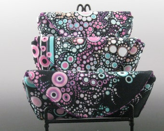 eyeglass case in Atmosphere - Amelia Caruso Effervescence- Made to order