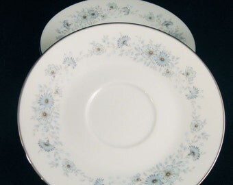 "Noritake Saucers "" Inverness""  #6716 Japan"