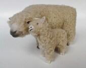 "Cheek to Cheek Sheep Figures 5"" Tall, English Southwown"