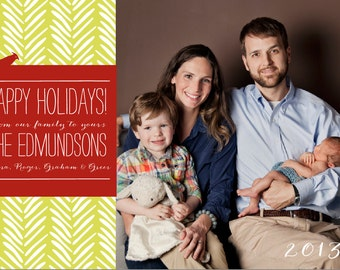 Holiday Sprig Photo Card