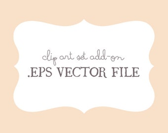 EPS Vector File - Clip Art Set Add-on - by Reani on Etsy